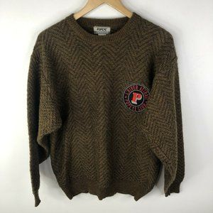 Vintage Popeye Club King Features Syndicate Sweater Knit Mens Large
